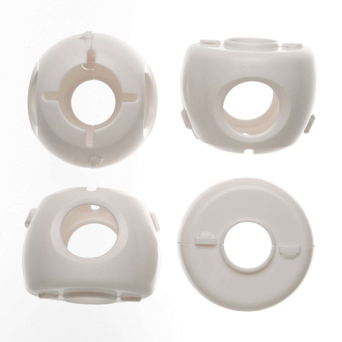 Safety 1st 48394 Grip /'n Twist Door Knob Covers White FREE SHIPPING