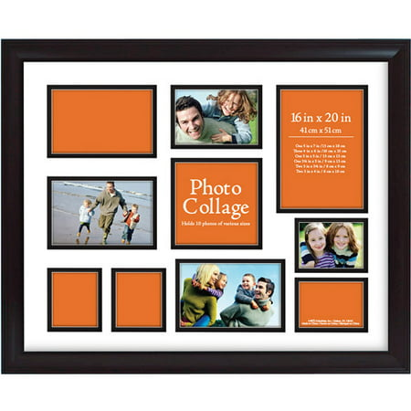 Photo Collage Frame 16x20 Walmart Com