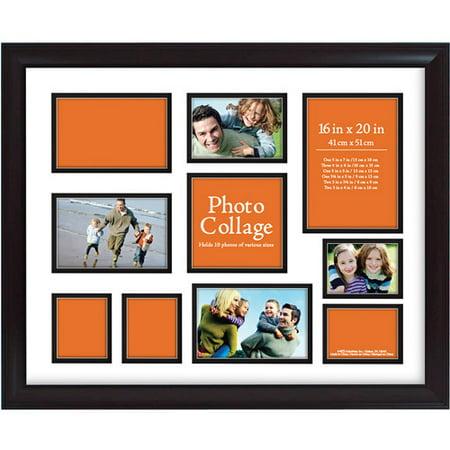 Photo Collage Frame 16x20 Walmart Com