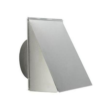 Broan 610FA 10 Inch Round Aluminum Fresh Air Inlet Cap