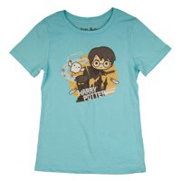 Warner Bros. Harry Potter Quidditch Chibi Character Glitter Graphic T-Shirt, Sizes 4-16