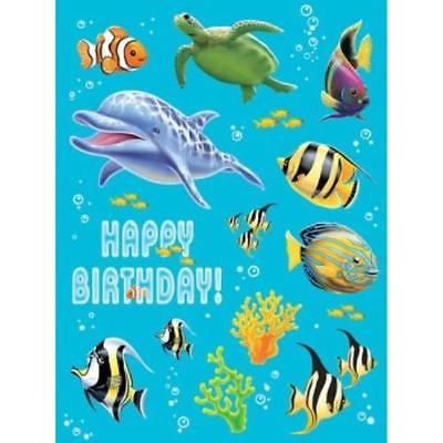 Ocean Party Value Stickers , 5PK