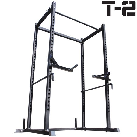 Titan T-2 Series Power Rack + Dip Bars Squat Deadlift Cage Bench stand pull