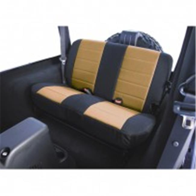 Fabric Rear Seat Covers, 03-06 Jeep Wrangler TJ