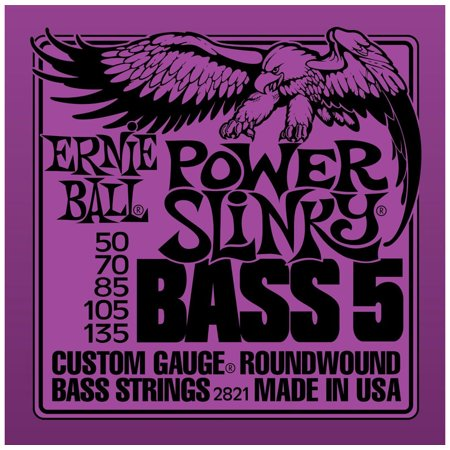 5 Strings Slinky Bass (Power Slinky 5-String Bass Nickel Wound .050-.135 )