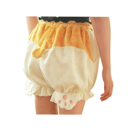 Mukola Cute Bloomers Corgi Butt Pants Lolita Pajama Shorts Animal Loungewear Sleepwear