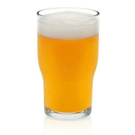Libbey Lager Beer Glasses, Set of