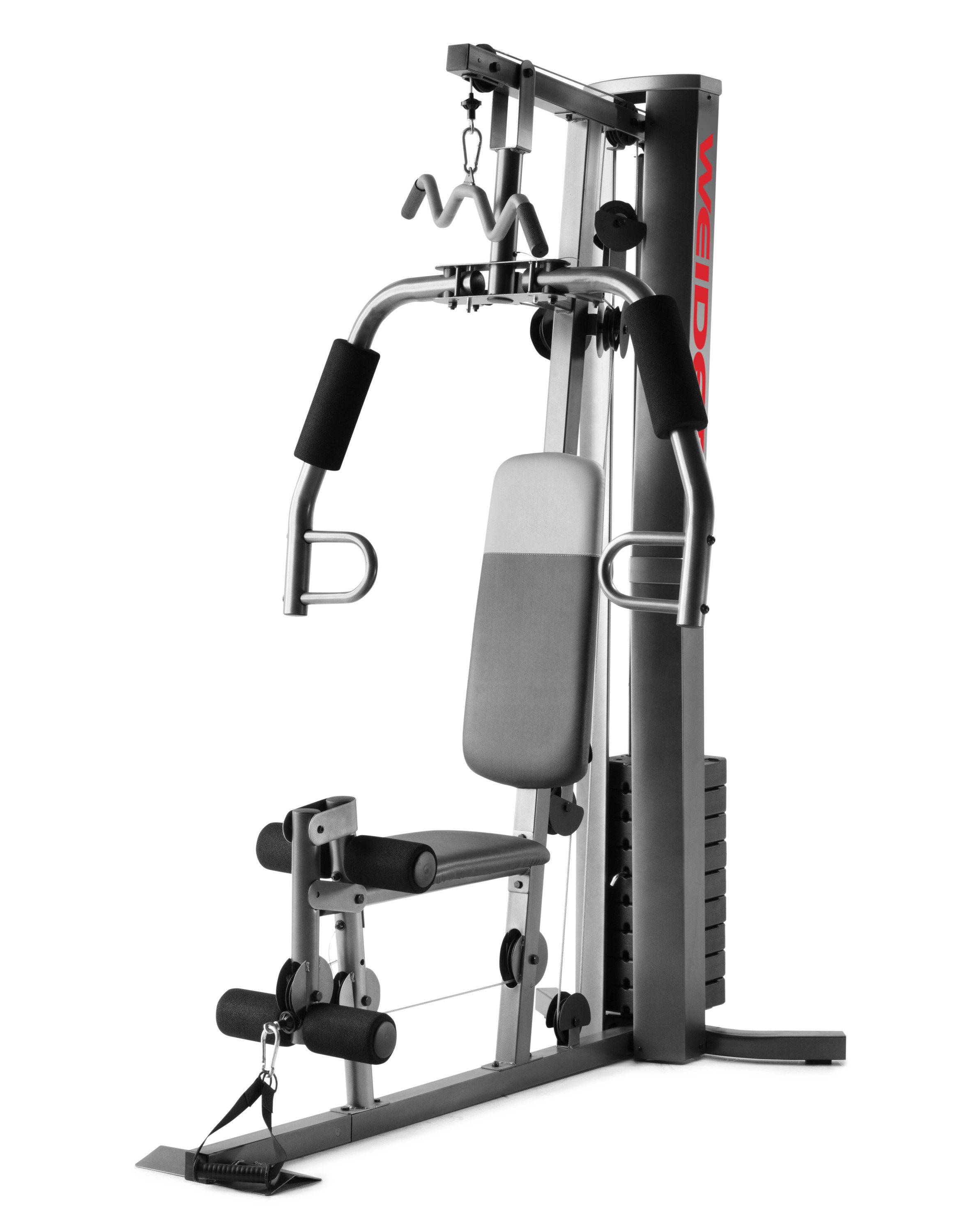 Weider XRS 50 Home Gym with High and Low Pulley System