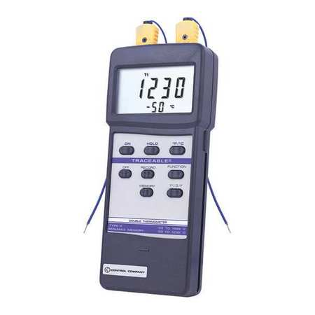 Thermocouple Thermometer, Traceable, 4137