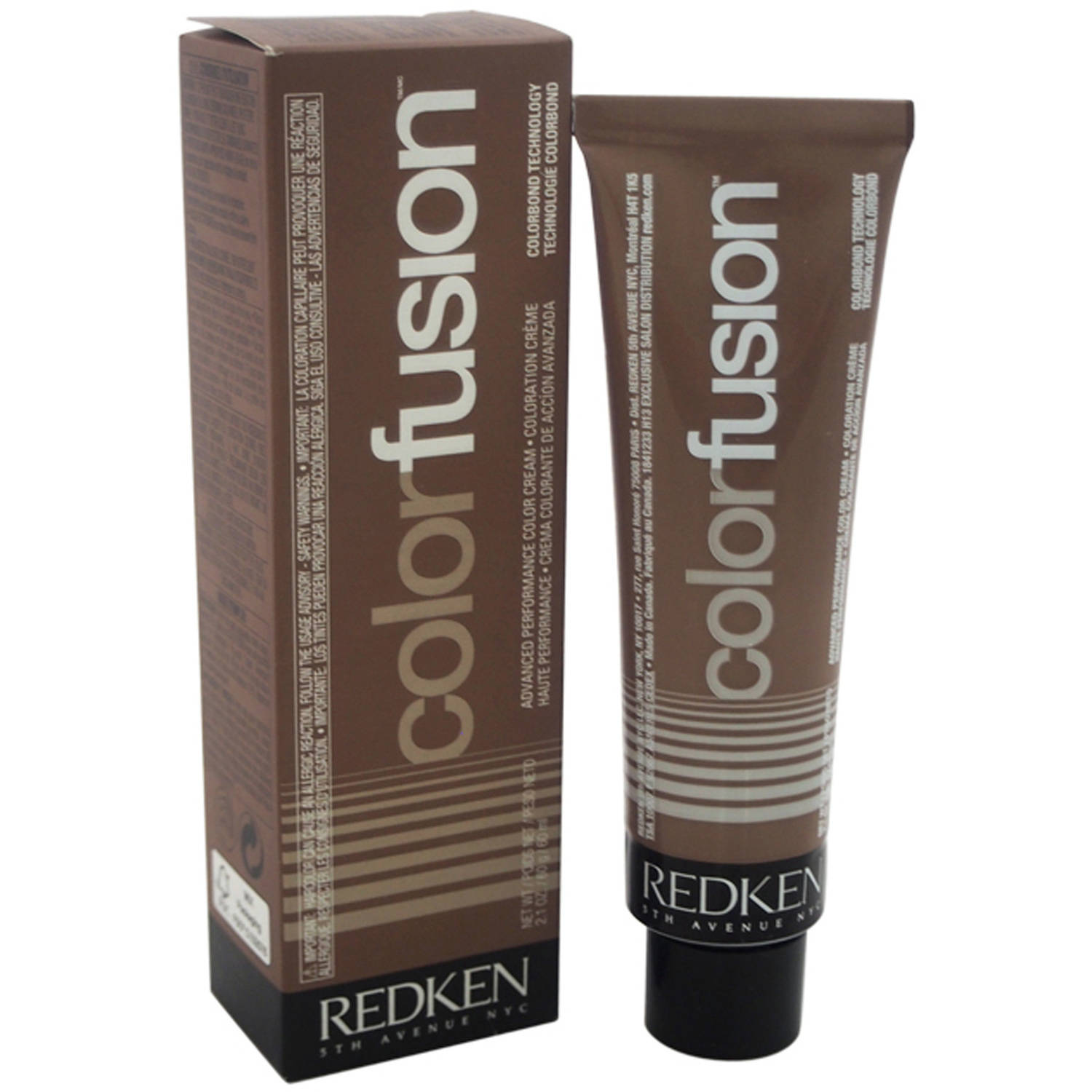 Redken Color Fusion Advanced Performance Color Cream 7Av - Ash/Violet, 2.1  Oz