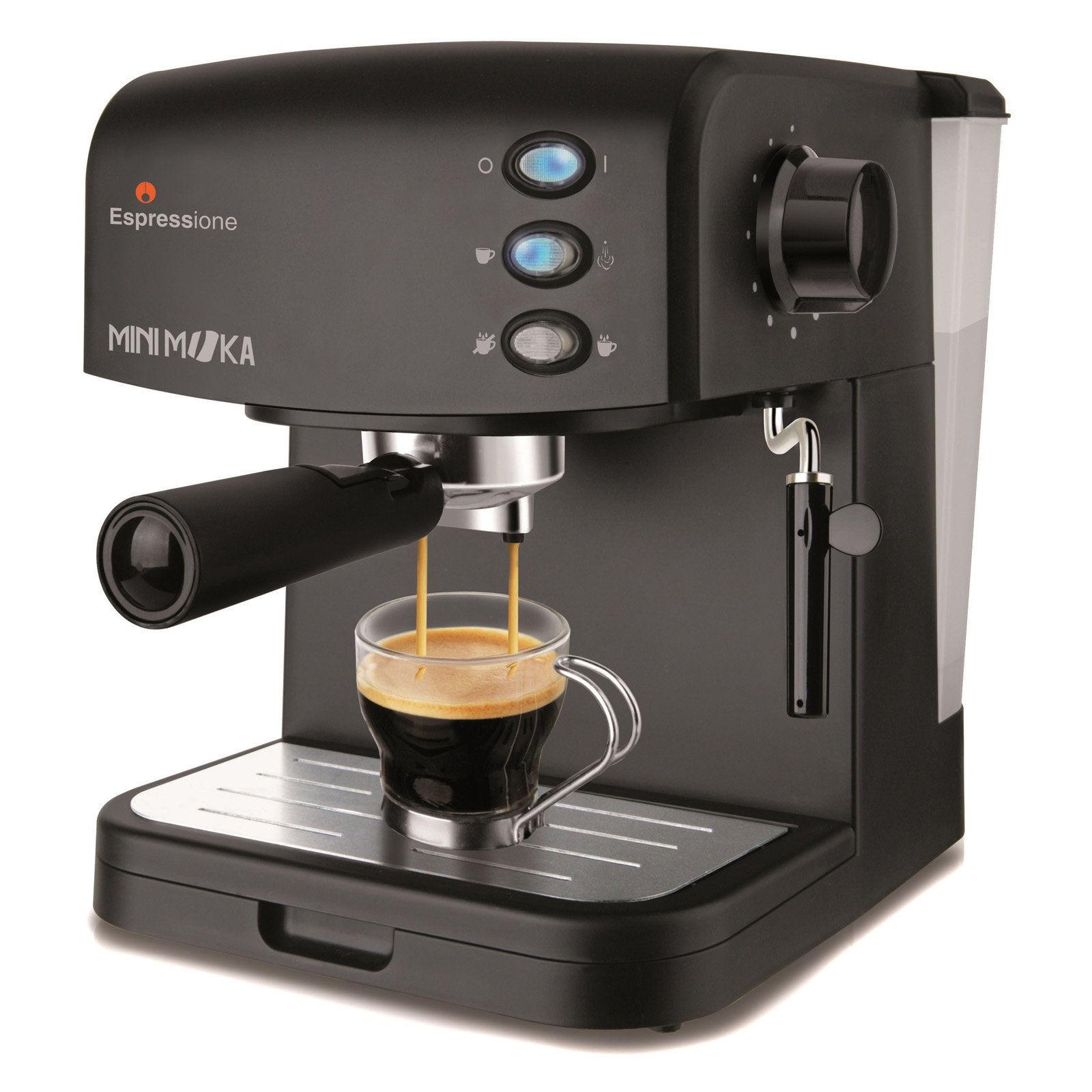 Click here to buy Espressione CM-1695 Minimoka Espresso Machine.
