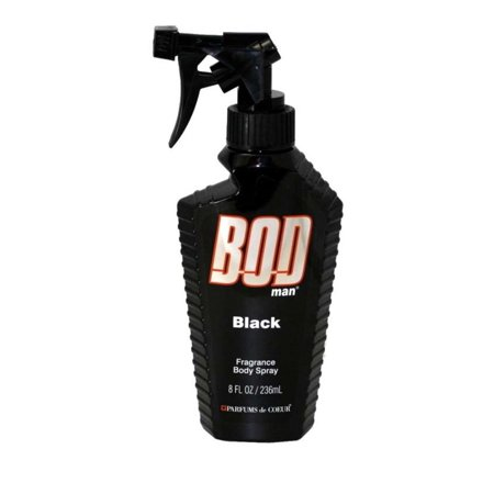 Bod Man Black Fragrance Body Spray 8 oz / 236 ml