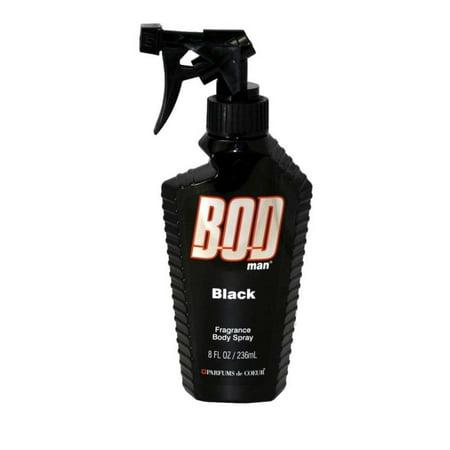 Bod Man Black Fragrance Body Spray 8 oz / 236 ml Brass Contemporary Body Spray