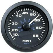 SeaStar Solutions Premier Pro 65 MPH Pitot-Type Speedometer
