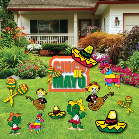 Cinco de mayo yard decoration party decorations - Cinco de mayo party decoration ideas ...
