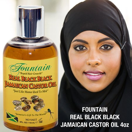 Organic Jamaican Black Castor Oil for Multi Purpose Healing & Fast Hair