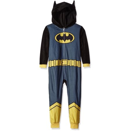 Justice League Boys' Batman Pajama Cosplay Union Suit - Female Batman Cosplay