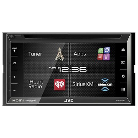 Jvc Kw-v620bt Car Dvd Player – 6.8″ Touchscreen Lcd – 88 W Rms – Double Din – 4 Channels – Dvd+rw, Dvd-rw, Cd-rw – Dvd Video, Mpeg-1, Mpeg-2, Video Cd, Svcd, H.264, Wmv, Mpeg-4, Avi, Mkv – (kwv620bt)