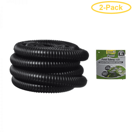 - Tetra Pond Pond Tubing - Black 20' Long x 1-1/4 Diameter - Pack of 2