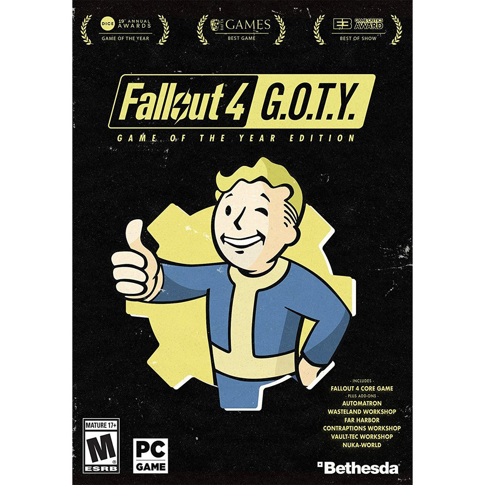 Fallout 4: Game of the Year Edition - PC Game