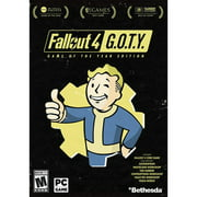 Fallout 4 Game Of The Year Edition, Bethesda, PC Software, 093155172531