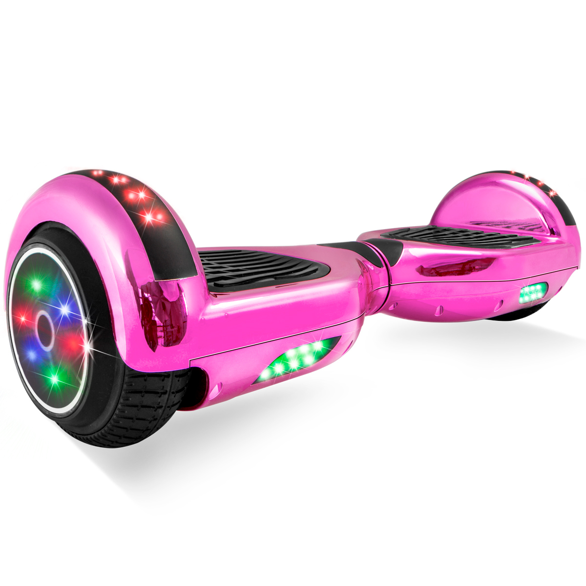 Self Balancing Electric Scooter Hoverboard UL CERTIFIED, Chrome Pink