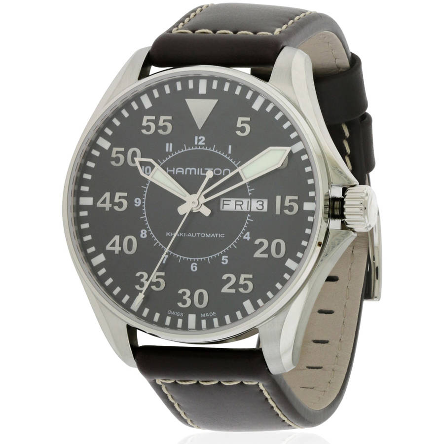 Hamilton Khaki Pilot Mens Watch H64715535 by Hamilton
