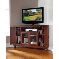 Deals on Crosley Cambridge Mahogany Entertainment Center