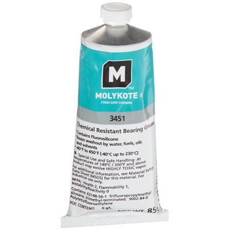 Dow Corning 3Fl Oz Chemical Resistant Bearing Grease Tube