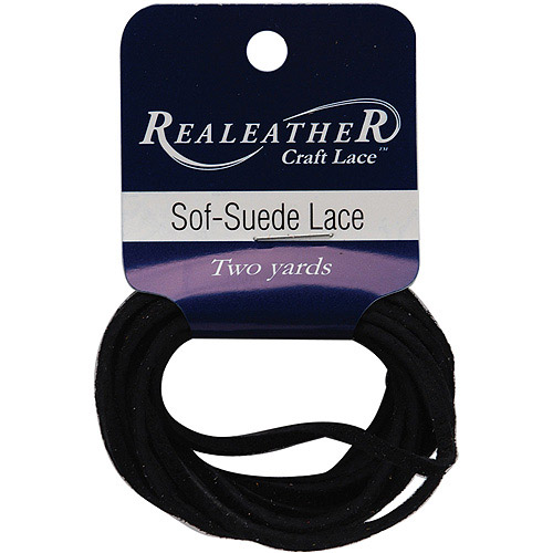 """Sof-Suede Lace, .094"""", Carded, 2 yd"""