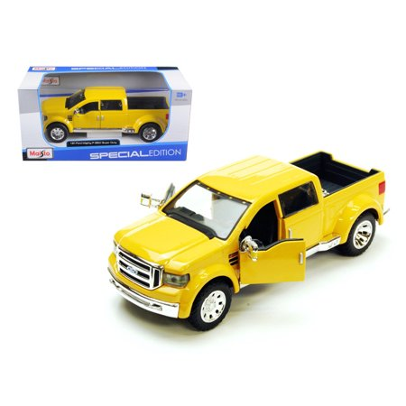 - Ford Mighty F-350 Pick Up Truck Yellow 1/31 Diecast Model by Maisto