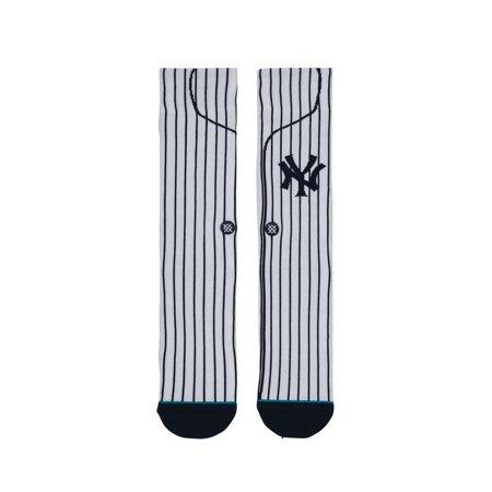 Stance New York Yankees Home White Socks - image 1 of 3
