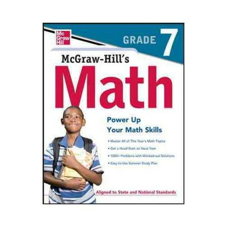 Mcgraw Hill S Math Grade 7 Walmart Com border=