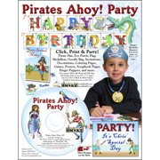 ScrapSMART Pirates Ahoy Party CD-ROM: Decorations, Crafts, Scrapbook and Coloring Pages