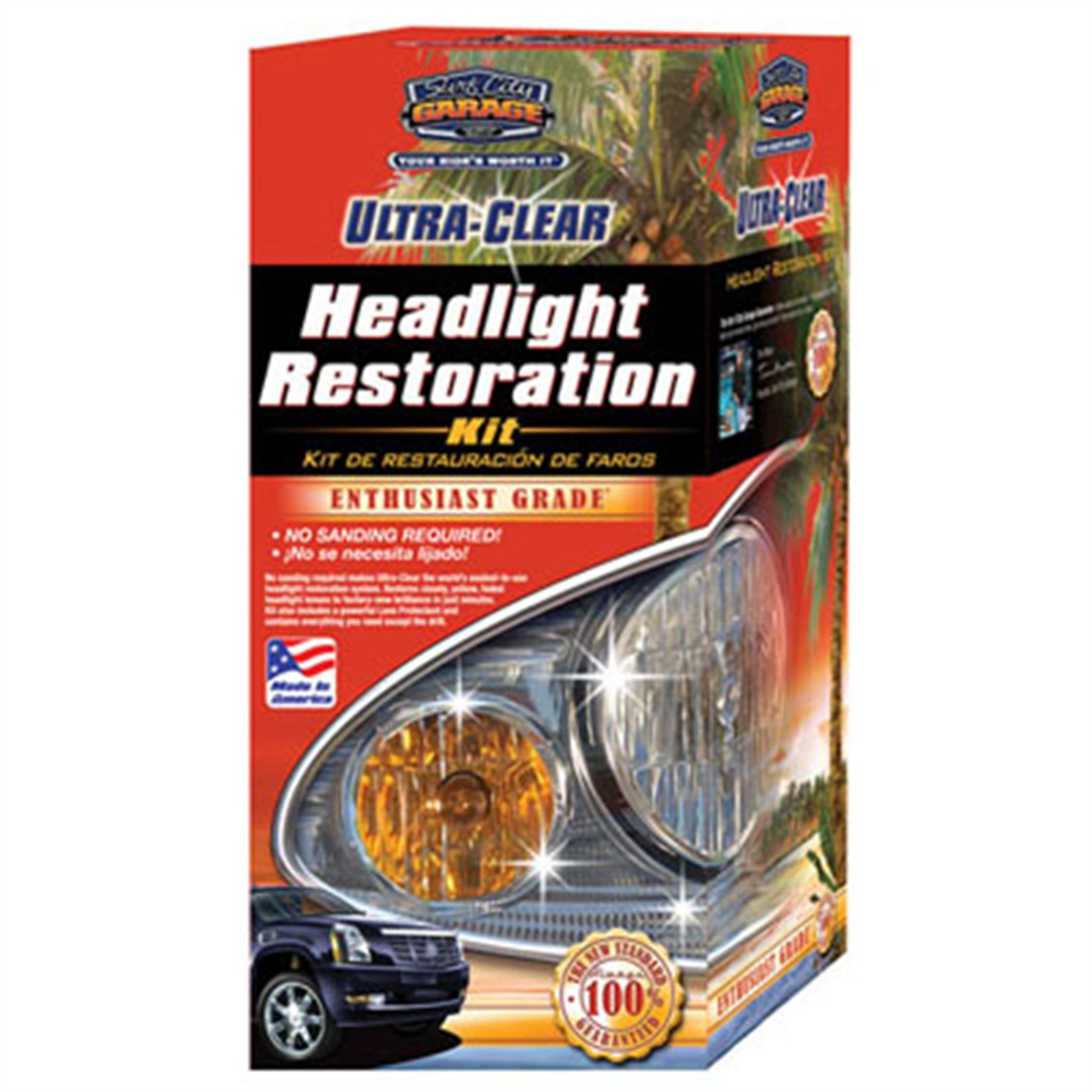 Ultra Clear Headlight Restoration Kit