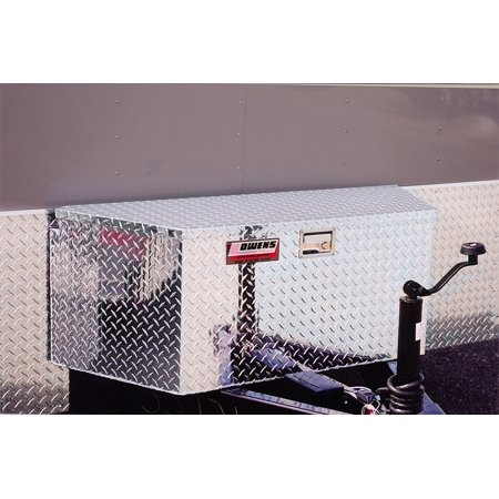 Owens Products 45003 OWE45003 GARRISON, TRAILER TONGUE BOXES - DEEP 34IN - SILVER
