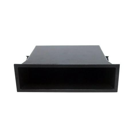 Single Pocket Fascia Din Car Vehicle Radio Cd Storage Box for Nissan - image 1 de 6