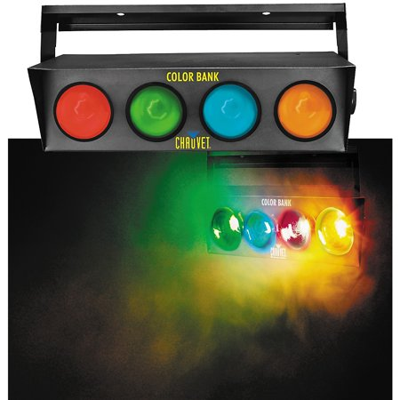 CHAUVET DJ Color Bank 4-Color Sound-Activated Light Chauvet Dj Bank