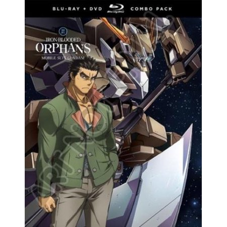 Mobile Suit Gundam: Iron-Blooded Orphans: Season Two, Part One Blu-ray + DVD + (Mobile Suit Gundam Iron Blooded Orphans Atra)