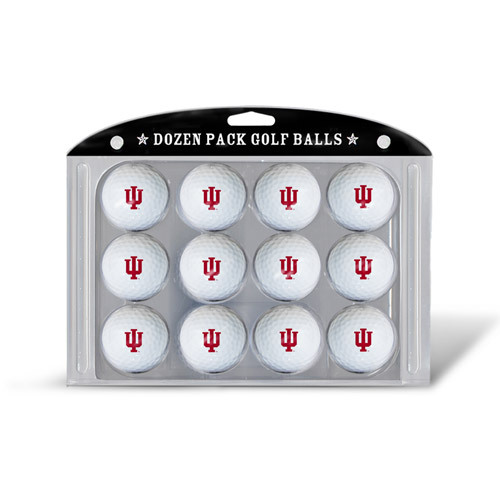 Team Golf NCAA Indiana Golf Balls, 12 Pack