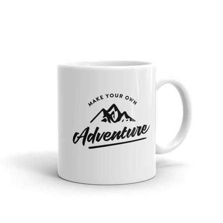 Paint Your Own Tea Cup (Funny Humor Novelty Make Your Own Adventure Travel 11 oz Coffee Tea Mug)