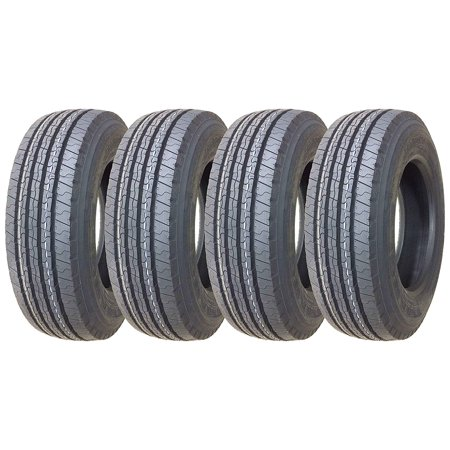 (4 New Premium TRIANGLE 225/70R19.5 14 Ply Rated All Position Tr)