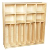 Contender C50848F Contender Baltic Birch Neat-N-Trim Lockers 47 In. With Assembled