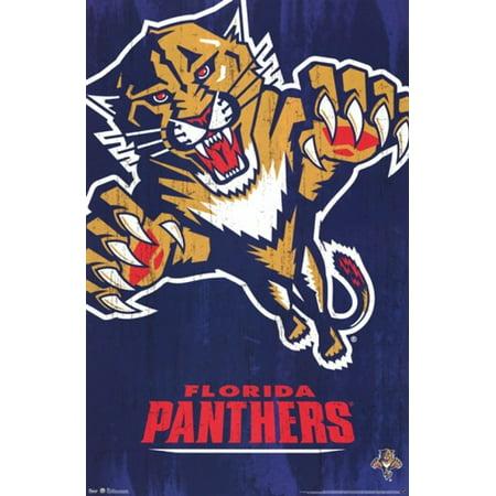 Panthers - Logo 13 Poster Poster