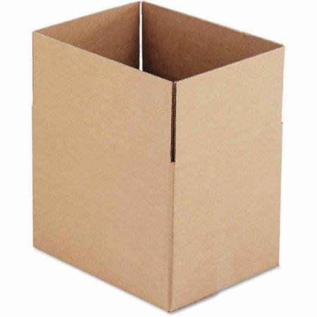 general supply brown corrugated fixed depth boxes 12 x 16 x 12 25 per bundle. Black Bedroom Furniture Sets. Home Design Ideas