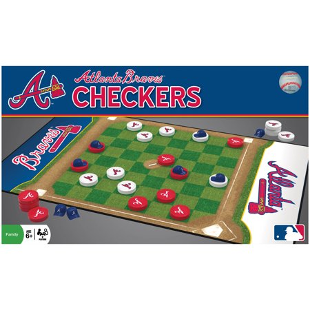 MasterPieces Atlanta Braves Checkers