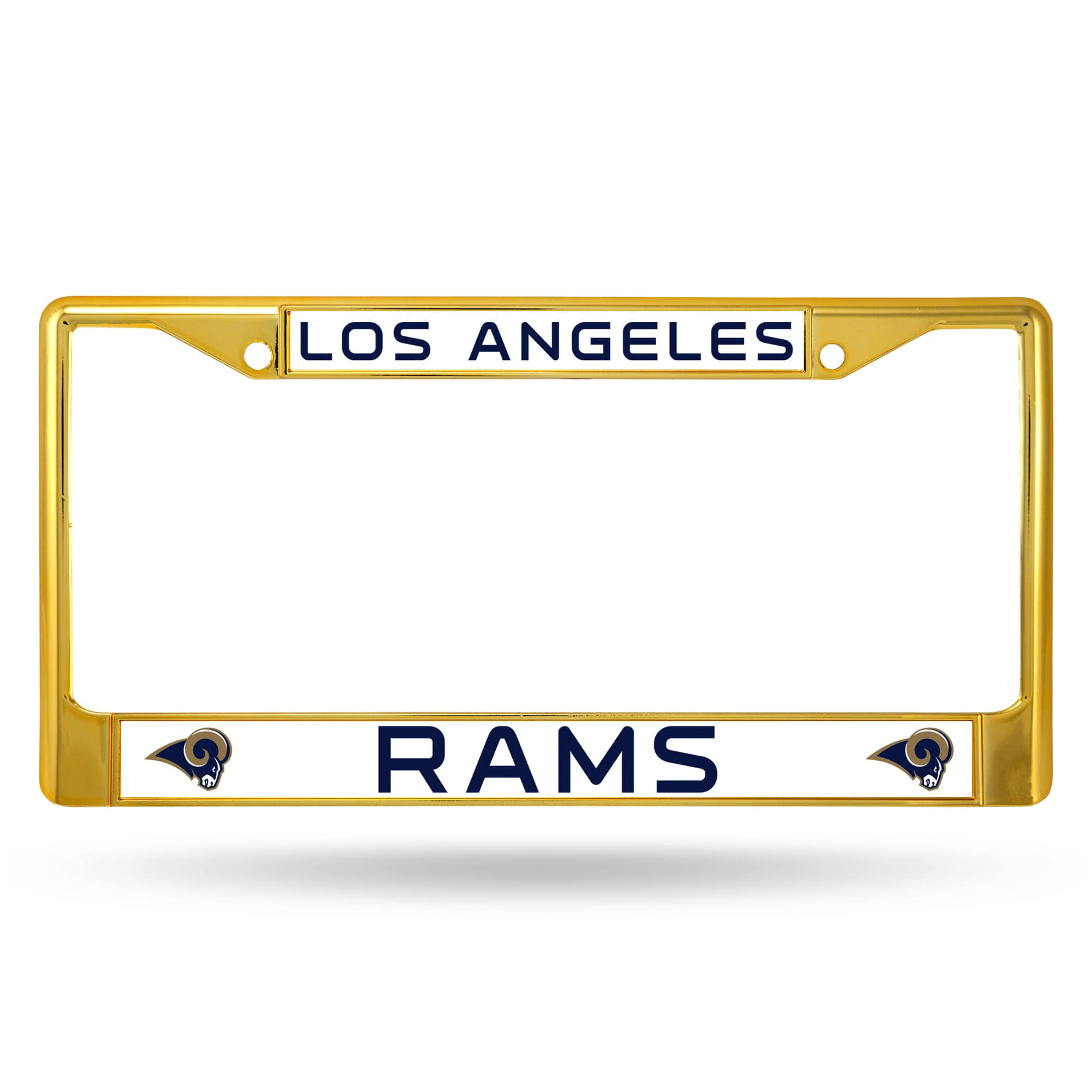 Rico Industries NFL Color License Plate Frame, Los Angeles Rams