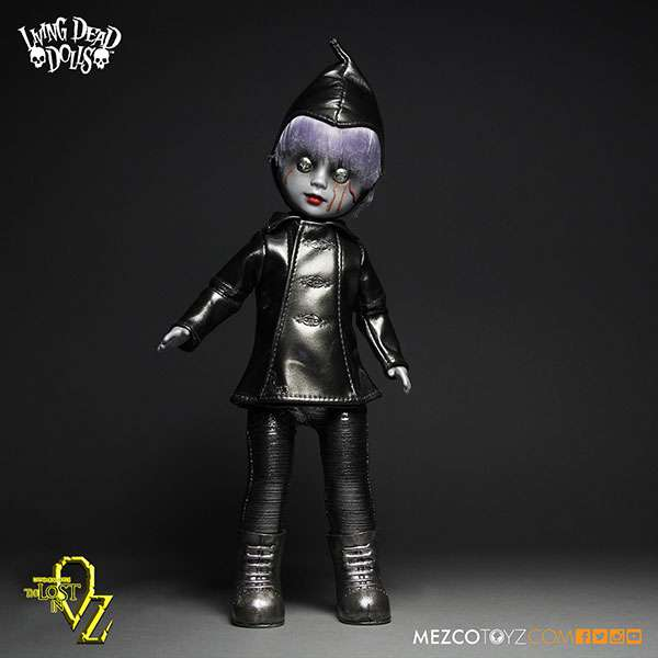 Living Dead Dolls Lost In Oz Bride of Valentine as Tin Man 10 Doll