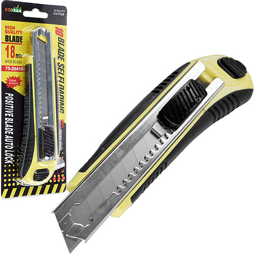 Stalwart Self-Loading Utility Knife with 10 #60 Blades