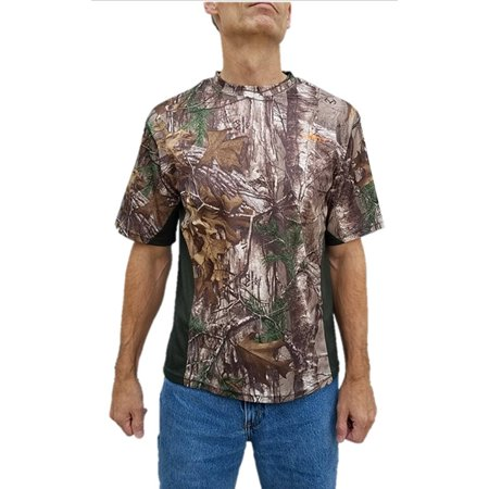 cf8a001e2a876 Habit - Habit Mens Size 2X-Large S/S Performance Shirt, Realtree Xtra/Night  Forest - Walmart.com